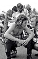 Barry Sheen und Paul Smart, Brno 1974