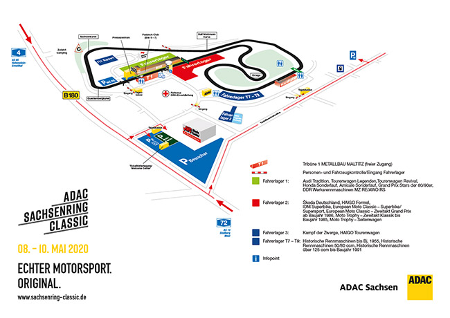 Sachsenring 2021 Programm